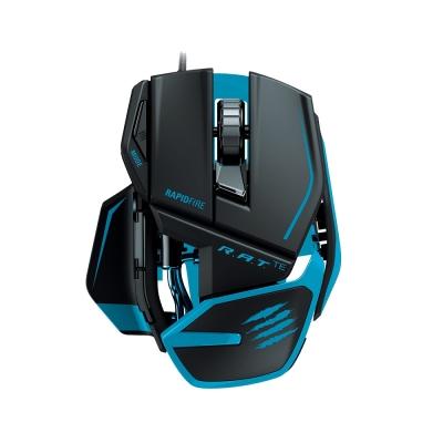 Mad-Catz-美加獅-R-A-T-TE-電競版雷射滑鼠-霧黑藍邊