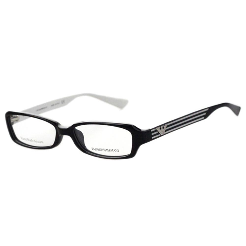 ARMANI-時尚光學眼鏡(黑色)