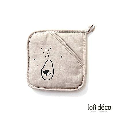 [絕版暢貨] Loft Deco | Gray bear | 隔熱墊