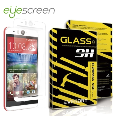EyeScreen HTC Desire EYE Everdry AGC 玻璃保...