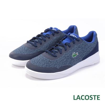 LACOSTE 男用休閒鞋-藍色
