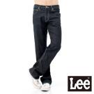 Lee 牛仔褲 727 中腰標準直筒-男款(深黑藍)