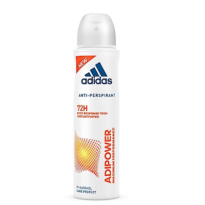 adidas愛迪達 極限動力制汗爽身噴霧(女用)150ml