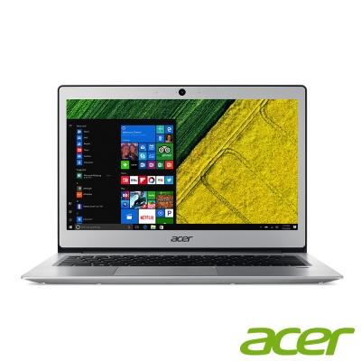 acer SF113-31-C035 13吋筆電(N3450/128G/4G/銀