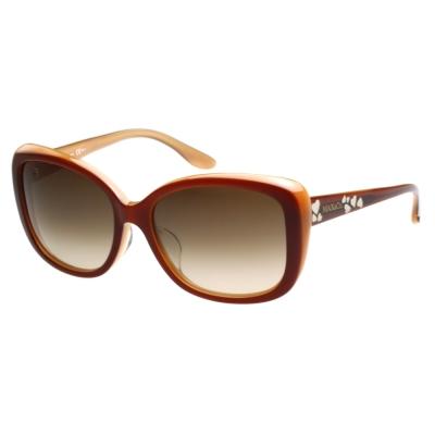 MAX&CO. 時尚太陽眼鏡 (咖啡紅)