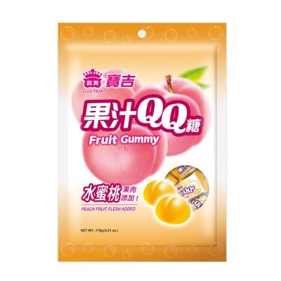 義美 寶吉果汁QQ糖-水蜜桃 (176g)