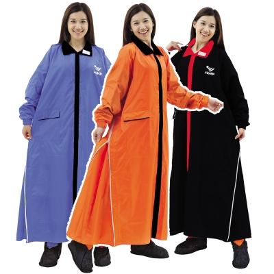 JUMP 將門 挺俏超輕量 雙側開 一件式連身風雨衣(5XL)加大尺寸
