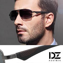 DZ 炫風翼者 抗UV 偏光太陽眼鏡墨鏡(槍框灰片)