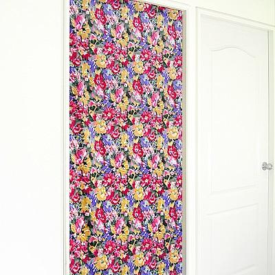 布安於室-懷舊花長門簾-多種尺寸