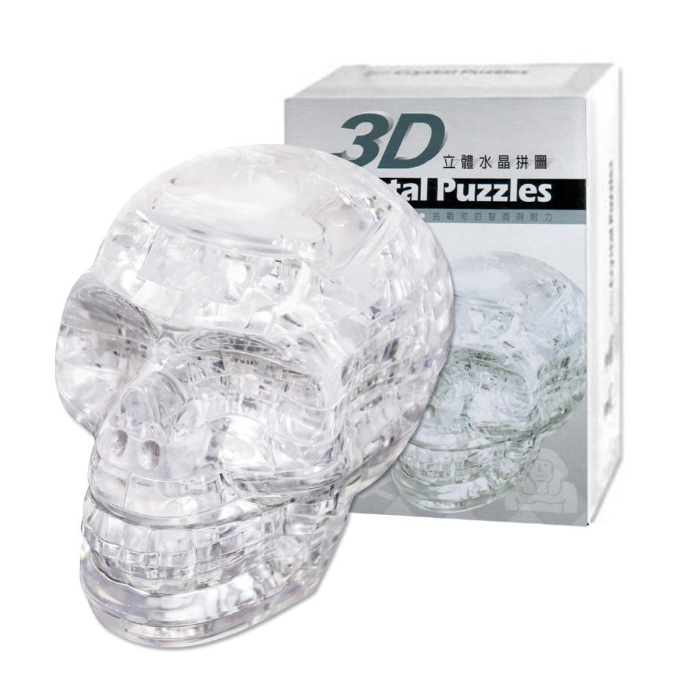《立體水晶拼圖》3D Crystal Puzzles骷髏頭