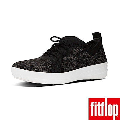 FitFlop TM-UBERKNIT TM SLIP-ON 黑/銅金色