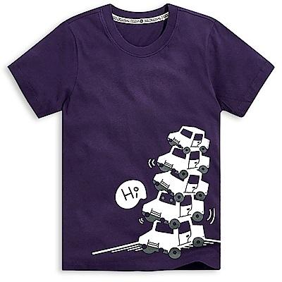 101原創 把我藏起來短袖T恤上衣-暗紫