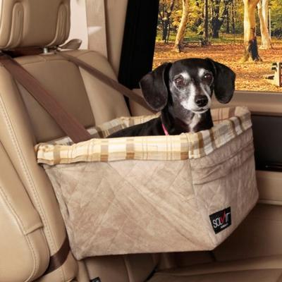 美國SOLVIT寵物介護 豪華版寵物車用安全籃 (L號)
