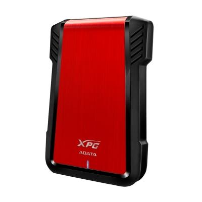 ADATA威剛 2.5吋硬碟外接盒EX500 USB 3.1 (紅)