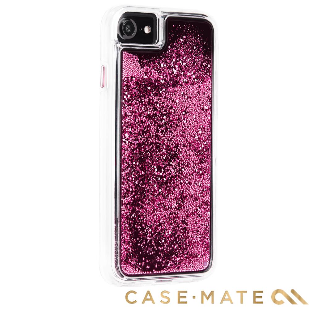 美國 Case-Mate iPhone 8 Waterfall 亮粉瀑布 - 玫瑰金
