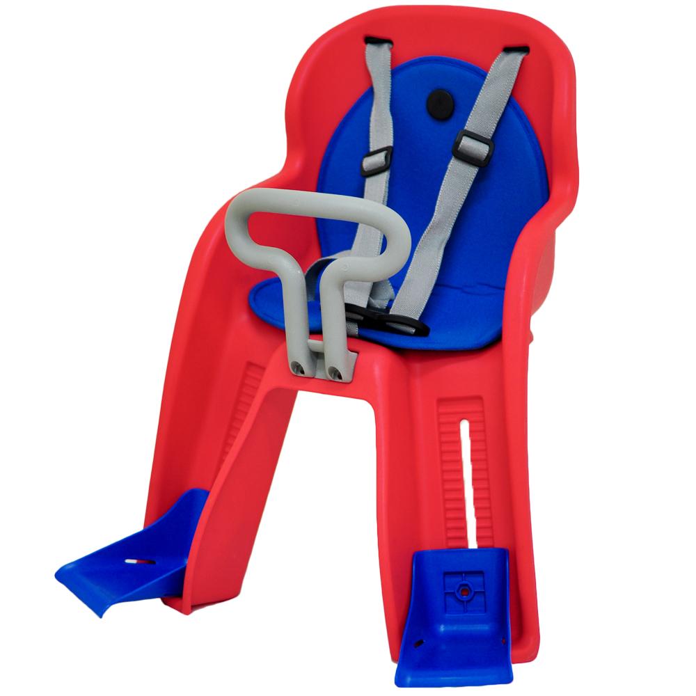 【GH-516】法拉利級前置式自行車兒童安全座椅(紅色)