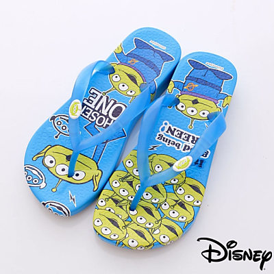 Disney迪士尼-三眼怪繽紛夾腳鞋-44024713藍(女段)