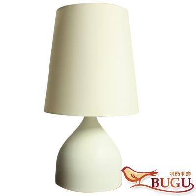 【BUGU布咕】依町和風簡約桌燈-純白款