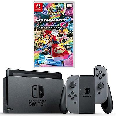 任天堂Nintendo Switch-灰 Joy-Con(馬力歐賽車)
