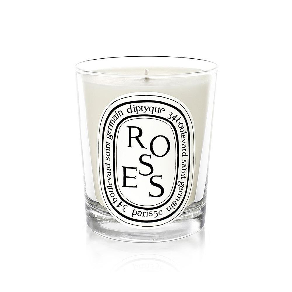 Diptyque 迷你香氛蠟燭-玫瑰70g
