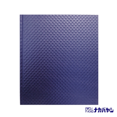 日本 Nakabayashi 自黏相本 珠光浮雕系列內頁黑 (藍)
