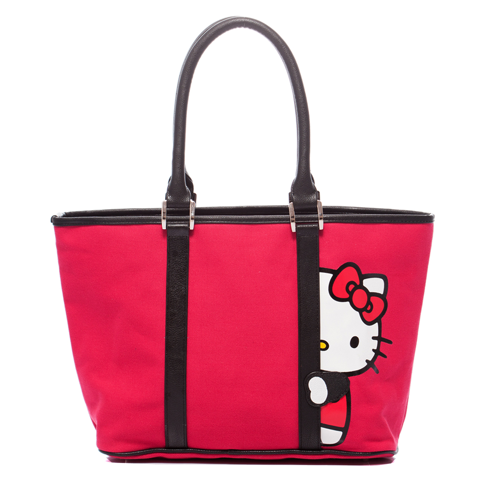 kitson x Kitty - RED edition 聯名系列 Tote (紅)