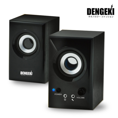 DENGEKI 電擊木質多媒體AC電源喇叭(SK-631)