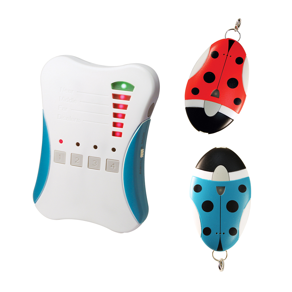 傳揚 孩童、寵物 雙向追蹤 警報器 一對二 (807G2)