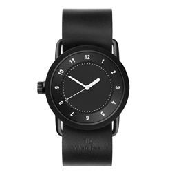TID Watches No.1 TID-W100-36-BW-黑X黑錶帶/36mm