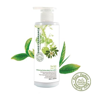 paris fragrance巴黎香氛-綠茶沁涼嫩白身體保濕露320ml