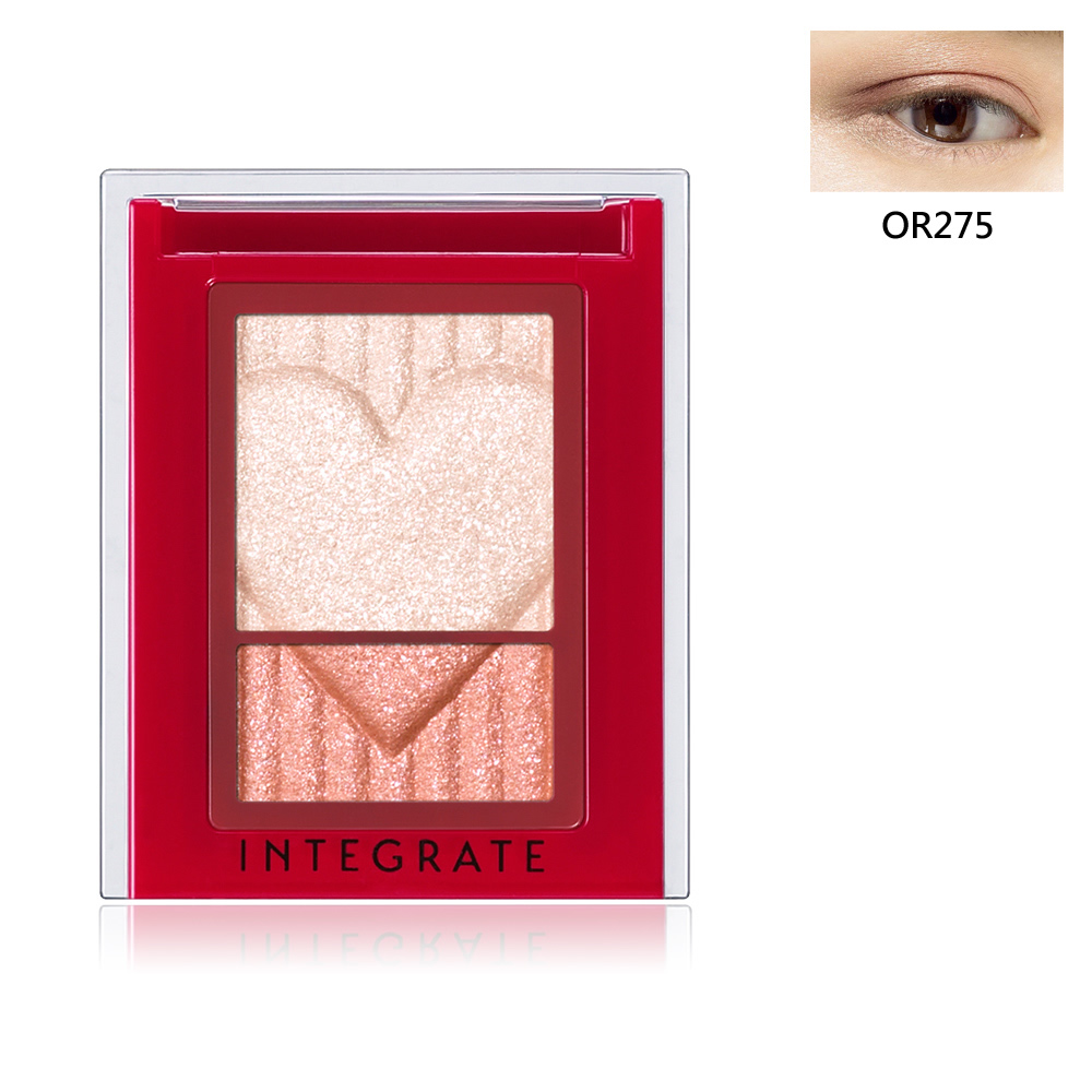 INTEGRATE 印象派光透眼影盒OR275(限定色) 2.5g