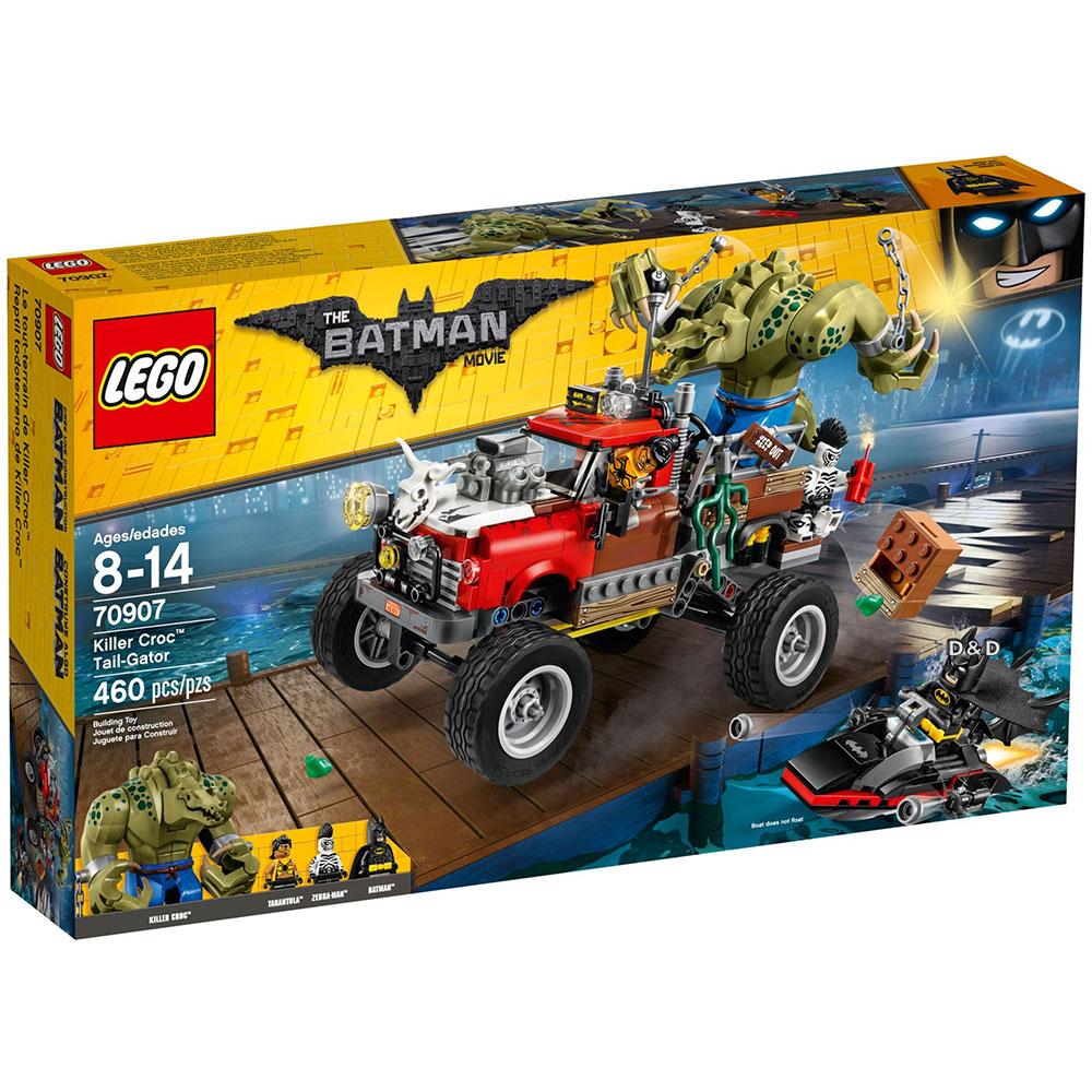 樂高LEGO蝙蝠俠系列 - LT70907 Killer Croc? Tail-Gator