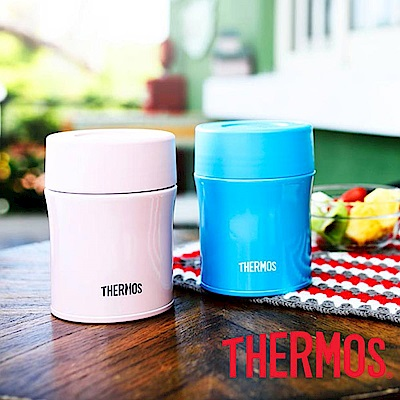 THERMOS膳魔師不鏽鋼真空保溫食物燜燒罐0.5L(JBM-500)