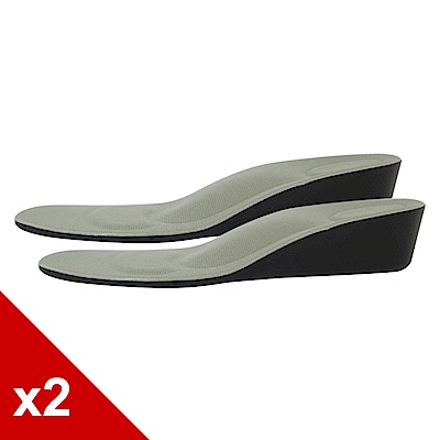 糊塗鞋匠 優質鞋材 B24 PU4.5cm增高鞋墊 (2雙/組)