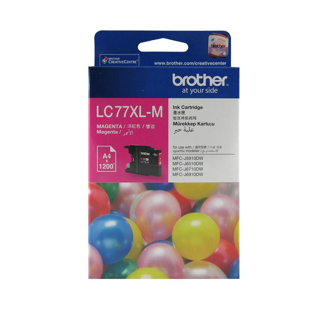 Brother LC77 XL 原廠超大容量紅色墨水匣