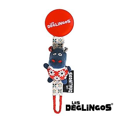 Les Deglingos 立體玩偶奶嘴夾-河馬 (HiPPiPos)
