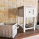 Amos-鄉村單抽竹籃置物櫃(28x31x45)