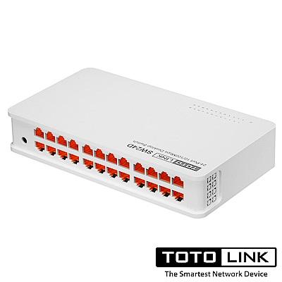 TOTOLINK SW24D 桌上型24埠乙太網路交換器