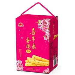 喜年來 大發芝麻蛋捲禮盒(384g)
