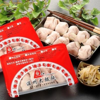 巨揚溫州大餛飩 超值6盒組(鮮肉*3+鮮蝦*3;10顆/盒)