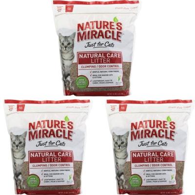 美國8in1-自然奇蹟-酵素環保玉米砂-10LB