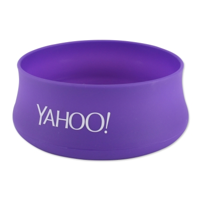 Yahoo! 矽膠寵物食用碗