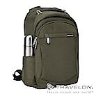 【Travelon美國防盜包】 防割鋼網經典電腦商務旅遊後背包TL-43114Z1-16綠