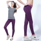 【LOTUS】高彈力瑜珈九分快乾慢跑運動褲(