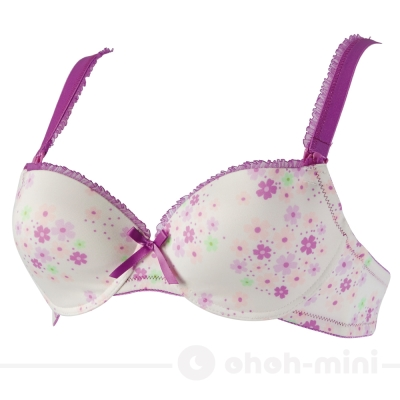 ohoh-mini孕婦裝花心玉米-玉米纖維模杯哺乳/孕婦內衣-粉紫