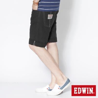 EDWIN率性風潮-503-BLUE-TRIP馬褲-男款-黑灰