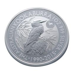 澳洲笑鴗鳥2015羊年特別版銀幣 (1盎司)