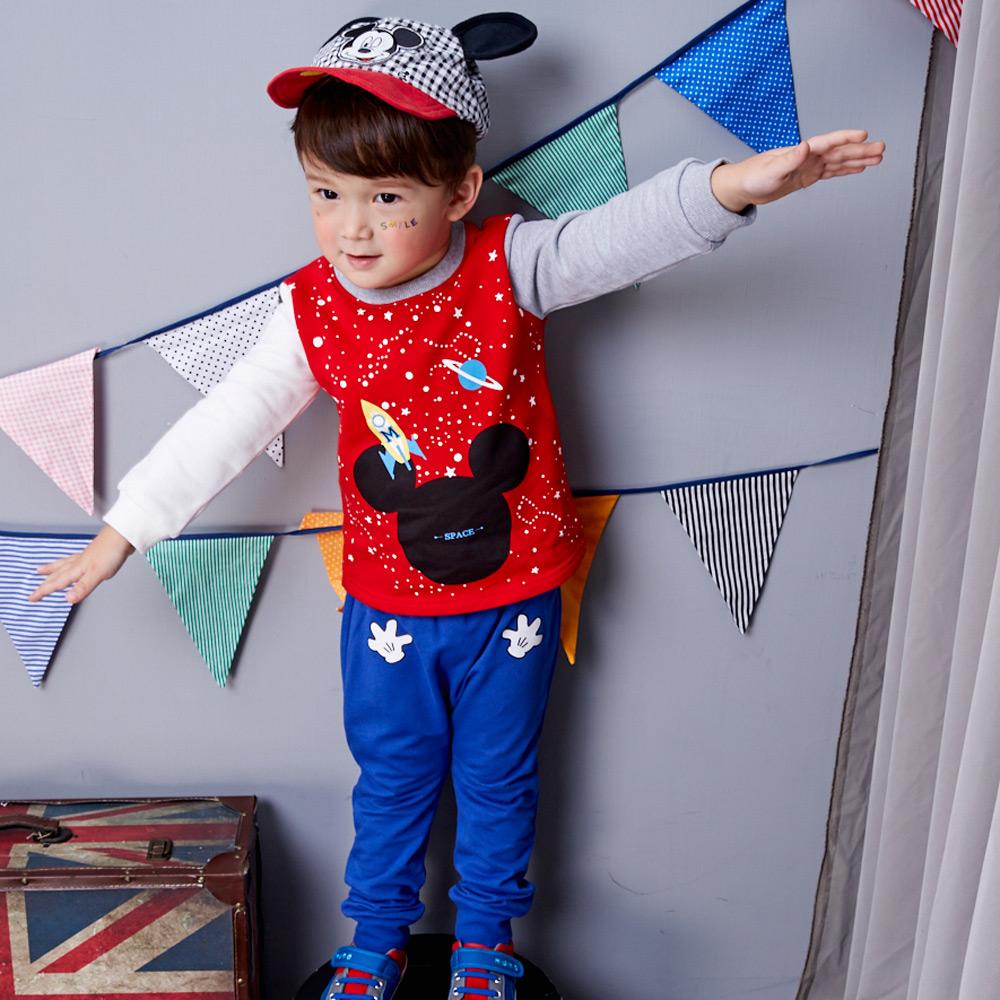 Disney baby 米奇系列HELLO哈倫束口褲 (共2色) product image 1