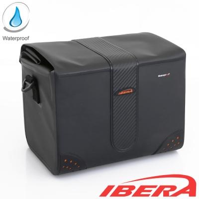IBERA 自行車專用防水大容量收納袋 (車手袋、背包兩用)