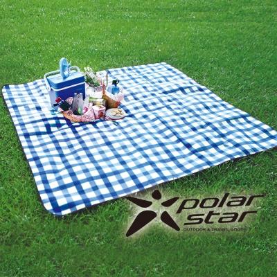 豪華防水野餐墊|高級植絨鋁膜睡墊 藍 (300 x 300 cm) P15727|露營